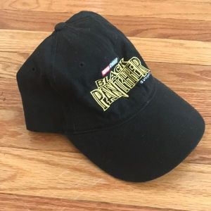 55bbedcd6210f Marvel Accessories - Black Panther Baseball Hat   Dad Cap